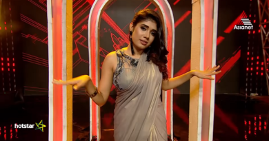 Alasandra Johnson with stylish entry at Bigg Boss venue