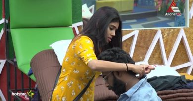 Pareekutty asking Alasandra Johnson help - Bigg Boss Malayalam 2