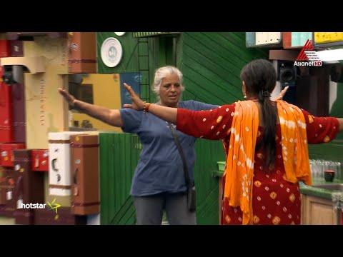 Rajini Sandy learning belly dance - Bigg Boss Malayalam