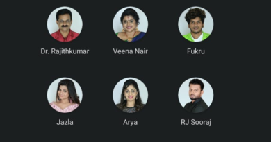 Eight week nominated contestants - Bigg Boss Malayalam season 2