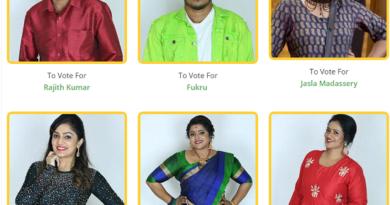 Seventh week nominated contestants - Bigg Boss Malayalam season 2