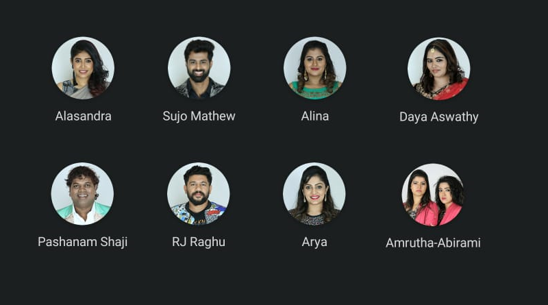 Eleventh week nominated contestants - Bigg Boss Malayalam season 2