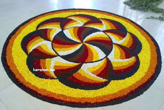 Onam Pookalam Design 85