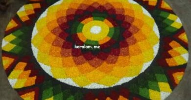 Onam Pookalam Design 91