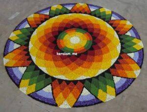 Onam Pookalam Design 92