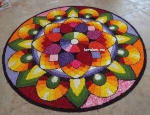 Onam Pookalam Design 96