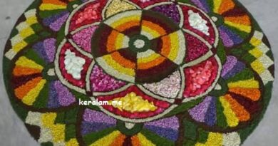 onam pookalam designs,rangoli flower design -2020,
