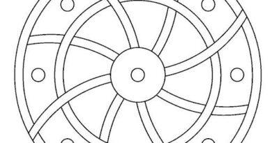 onam pookalam designs outline - 3, onam 2020