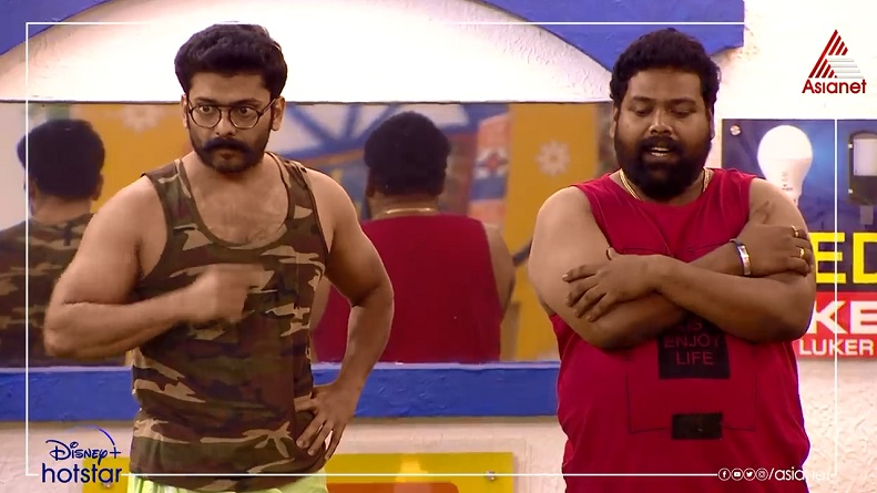 Manikuttan Third week captain Bigg Boss Malayalam season 3