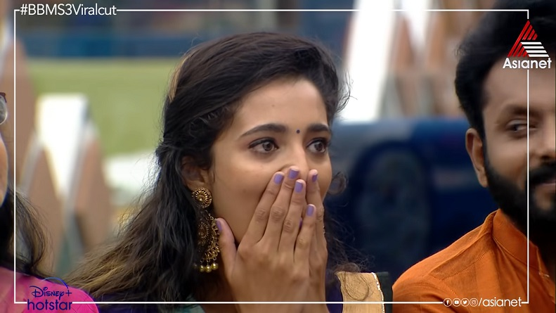 Angel Thomas eliminated - bigg boss malayalam season 3 vote results