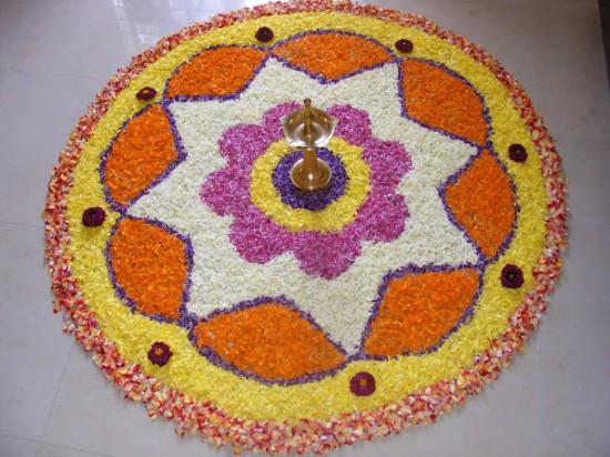 Kerala-Onam-Festival-celebrations-Pookalam