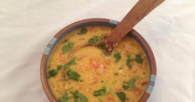 Moong Dal with Tomato