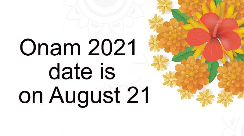 Onam 2021
